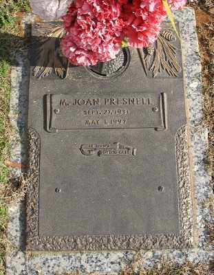 PRESNELL, M. JOAN - Saline County, Arkansas | M. JOAN PRESNELL - Arkansas Gravestone Photos