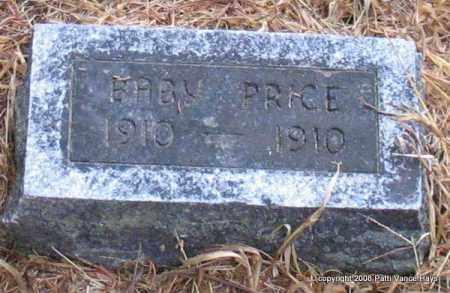 PRICE, BABY - Saline County, Arkansas   BABY PRICE - Arkansas Gravestone Photos