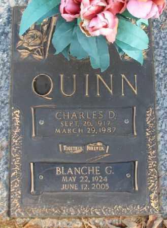QUINN, CHARLES D. - Saline County, Arkansas | CHARLES D. QUINN - Arkansas Gravestone Photos