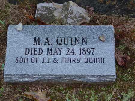 QUINN, M. A. - Saline County, Arkansas | M. A. QUINN - Arkansas Gravestone Photos