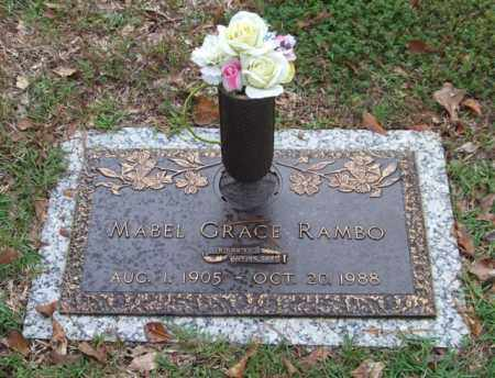RAMBO, MABEL GRACE - Saline County, Arkansas | MABEL GRACE RAMBO - Arkansas Gravestone Photos