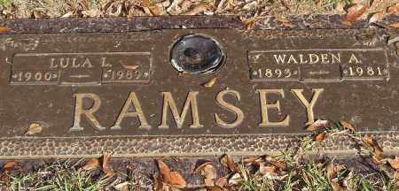 RAMSEY, LULA L. - Saline County, Arkansas | LULA L. RAMSEY - Arkansas Gravestone Photos