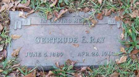RAY, GERTRUDE E. - Saline County, Arkansas | GERTRUDE E. RAY - Arkansas Gravestone Photos