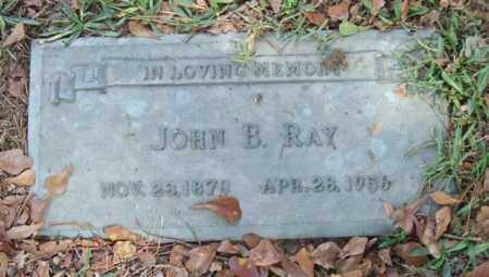 RAY, JOHN B. - Saline County, Arkansas | JOHN B. RAY - Arkansas Gravestone Photos