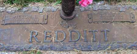 REDDITT, WILSON L. - Saline County, Arkansas | WILSON L. REDDITT - Arkansas Gravestone Photos