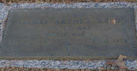 REED (VETERAN WWI), JAMES ARTHUR - Saline County, Arkansas | JAMES ARTHUR REED (VETERAN WWI) - Arkansas Gravestone Photos