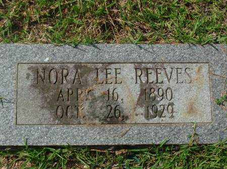 REEVES, NORA - Saline County, Arkansas | NORA REEVES - Arkansas Gravestone Photos