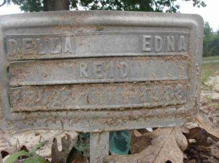REID, DELLA EDNA - Saline County, Arkansas | DELLA EDNA REID - Arkansas Gravestone Photos