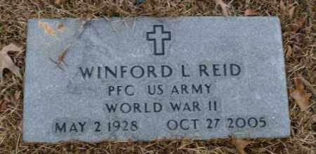 REID (VETERAN WWII), WINFORD L. - Saline County, Arkansas | WINFORD L. REID (VETERAN WWII) - Arkansas Gravestone Photos