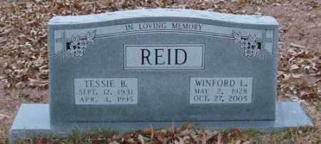 REID, TESSIE B. - Saline County, Arkansas | TESSIE B. REID - Arkansas Gravestone Photos