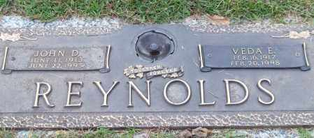 REYNOLDS, JOHN D. - Saline County, Arkansas | JOHN D. REYNOLDS - Arkansas Gravestone Photos