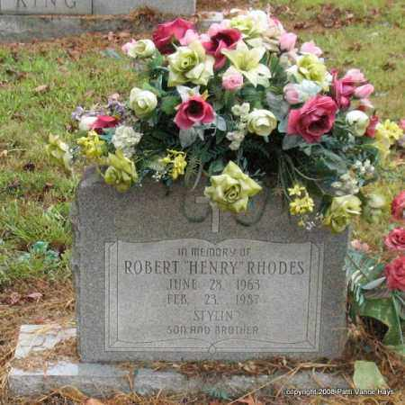 "RHODES, ROBERT ""HENRY"" - Saline County, Arkansas 