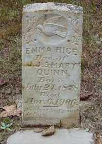 "RICE, EMELINE ""EMMA"" - Saline County, Arkansas 