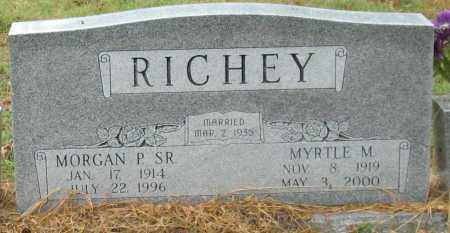 RICHEY, SR., MORGAN PAUL - Saline County, Arkansas | MORGAN PAUL RICHEY, SR. - Arkansas Gravestone Photos