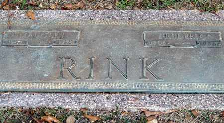 RINK, FREDERIC - Saline County, Arkansas | FREDERIC RINK - Arkansas Gravestone Photos