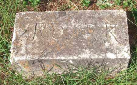 ROARK, UNKNOWN - Saline County, Arkansas | UNKNOWN ROARK - Arkansas Gravestone Photos