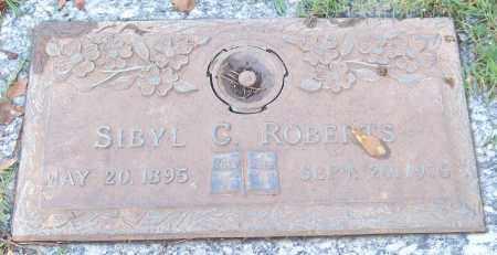 ROBERTS, SIBYL C. - Saline County, Arkansas | SIBYL C. ROBERTS - Arkansas Gravestone Photos