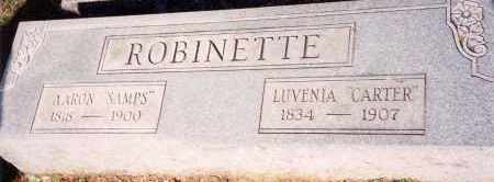 CARTER ROBINETTE, LUVENIA - Saline County, Arkansas | LUVENIA CARTER ROBINETTE - Arkansas Gravestone Photos