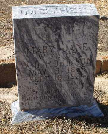 ROBINSON, MARY JANE - Saline County, Arkansas | MARY JANE ROBINSON - Arkansas Gravestone Photos