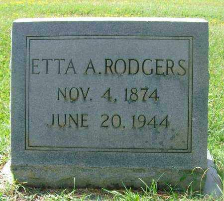 RODGERS, ETTA - Saline County, Arkansas | ETTA RODGERS - Arkansas Gravestone Photos