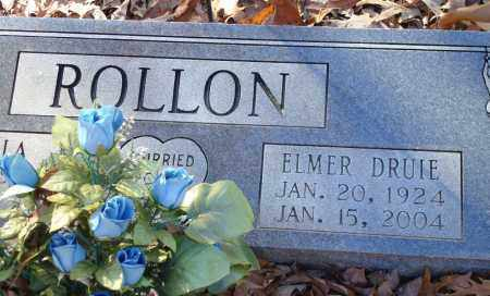 ROLLON, ELMER DRUIE - Saline County, Arkansas | ELMER DRUIE ROLLON - Arkansas Gravestone Photos