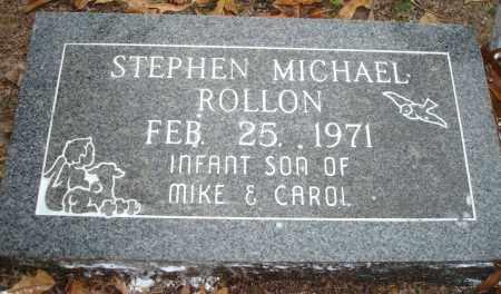 ROLLON, STEPHEN MICHAEL - Saline County, Arkansas | STEPHEN MICHAEL ROLLON - Arkansas Gravestone Photos