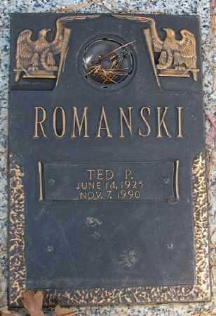 ROMANSKI, TED P. - Saline County, Arkansas | TED P. ROMANSKI - Arkansas Gravestone Photos