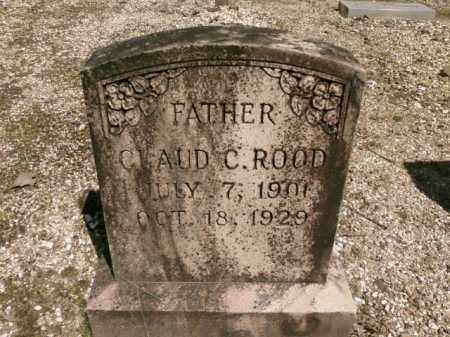 ROOD, CLAUD C. - Saline County, Arkansas | CLAUD C. ROOD - Arkansas Gravestone Photos