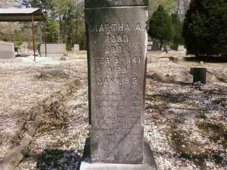 ROOD, MARTHA A. - Saline County, Arkansas | MARTHA A. ROOD - Arkansas Gravestone Photos