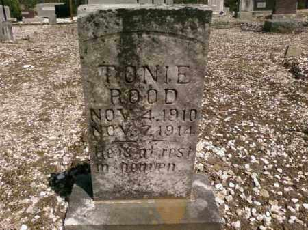 ROOD, TONIE - Saline County, Arkansas | TONIE ROOD - Arkansas Gravestone Photos