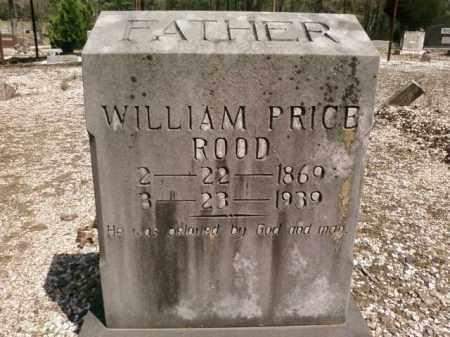 ROOD, WILLIAM PRICE - Saline County, Arkansas   WILLIAM PRICE ROOD - Arkansas Gravestone Photos