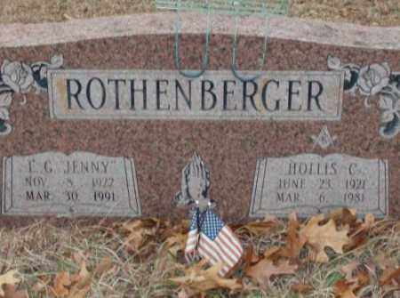 "ROTHENBERGER, L.G. ""JENNY"" - Saline County, Arkansas 
