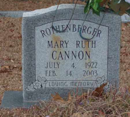 ROTHENBERGER, MARY RUTH - Saline County, Arkansas | MARY RUTH ROTHENBERGER - Arkansas Gravestone Photos