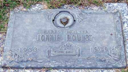 ROULST, JONNIE - Saline County, Arkansas | JONNIE ROULST - Arkansas Gravestone Photos