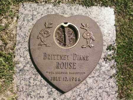 ROUSE, BRITTNEY DIANE - Saline County, Arkansas | BRITTNEY DIANE ROUSE - Arkansas Gravestone Photos
