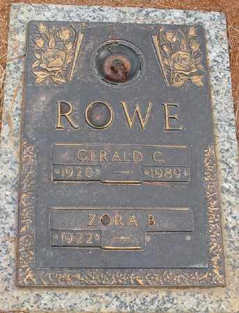 ROWE, GERALD C. - Saline County, Arkansas | GERALD C. ROWE - Arkansas Gravestone Photos