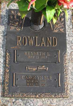 ROWLAND, CAROLYN SUE - Saline County, Arkansas | CAROLYN SUE ROWLAND - Arkansas Gravestone Photos