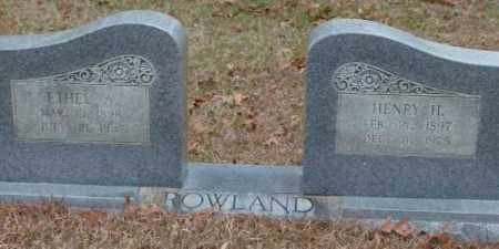 ROWLAND, ETHEL A. - Saline County, Arkansas | ETHEL A. ROWLAND - Arkansas Gravestone Photos