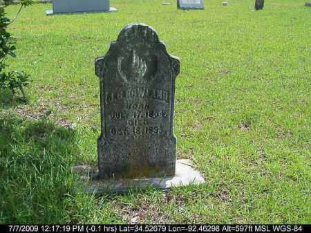 ROWLAND, J. C. - Saline County, Arkansas | J. C. ROWLAND - Arkansas Gravestone Photos
