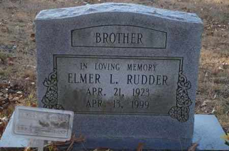 RUDDER, ELMER L - Saline County, Arkansas | ELMER L RUDDER - Arkansas Gravestone Photos