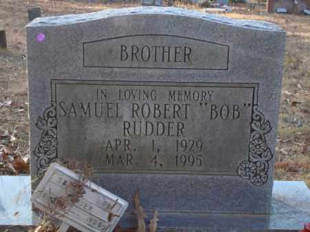 "RUDDER, SAMUEL ROBERT ""BOB"" - Saline County, Arkansas 