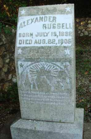 RUSSELL, ALEXANDER - Saline County, Arkansas | ALEXANDER RUSSELL - Arkansas Gravestone Photos