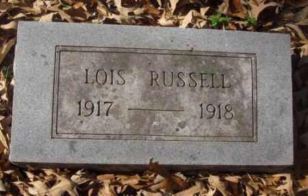 RUSSELL, LOIS - Saline County, Arkansas | LOIS RUSSELL - Arkansas Gravestone Photos