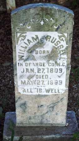 RUSSELL, WILLIAM - Saline County, Arkansas   WILLIAM RUSSELL - Arkansas Gravestone Photos