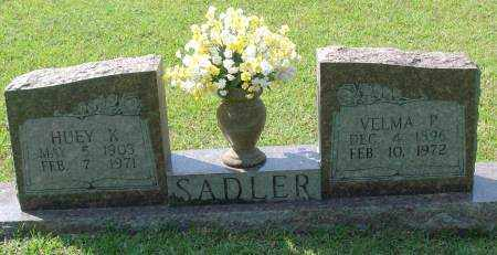 SADLER, HUEY K - Saline County, Arkansas | HUEY K SADLER - Arkansas Gravestone Photos