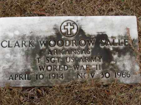 SALLEY (VETERAN WWII), CLARK WOODROW - Saline County, Arkansas | CLARK WOODROW SALLEY (VETERAN WWII) - Arkansas Gravestone Photos