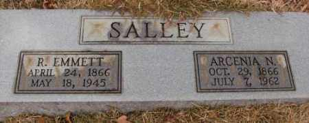 SALLEY, ARCENIA N. - Saline County, Arkansas | ARCENIA N. SALLEY - Arkansas Gravestone Photos