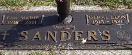 SANDERS, OTHAL LEON - Saline County, Arkansas | OTHAL LEON SANDERS - Arkansas Gravestone Photos