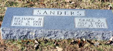 SANDERS, RICHARD H. - Saline County, Arkansas | RICHARD H. SANDERS - Arkansas Gravestone Photos