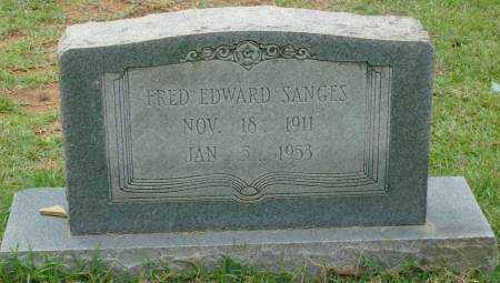 SANGES, FRED EDWARD - Saline County, Arkansas | FRED EDWARD SANGES - Arkansas Gravestone Photos